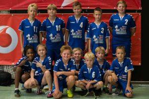 Jugendmannschaft - Einlauf-Kids