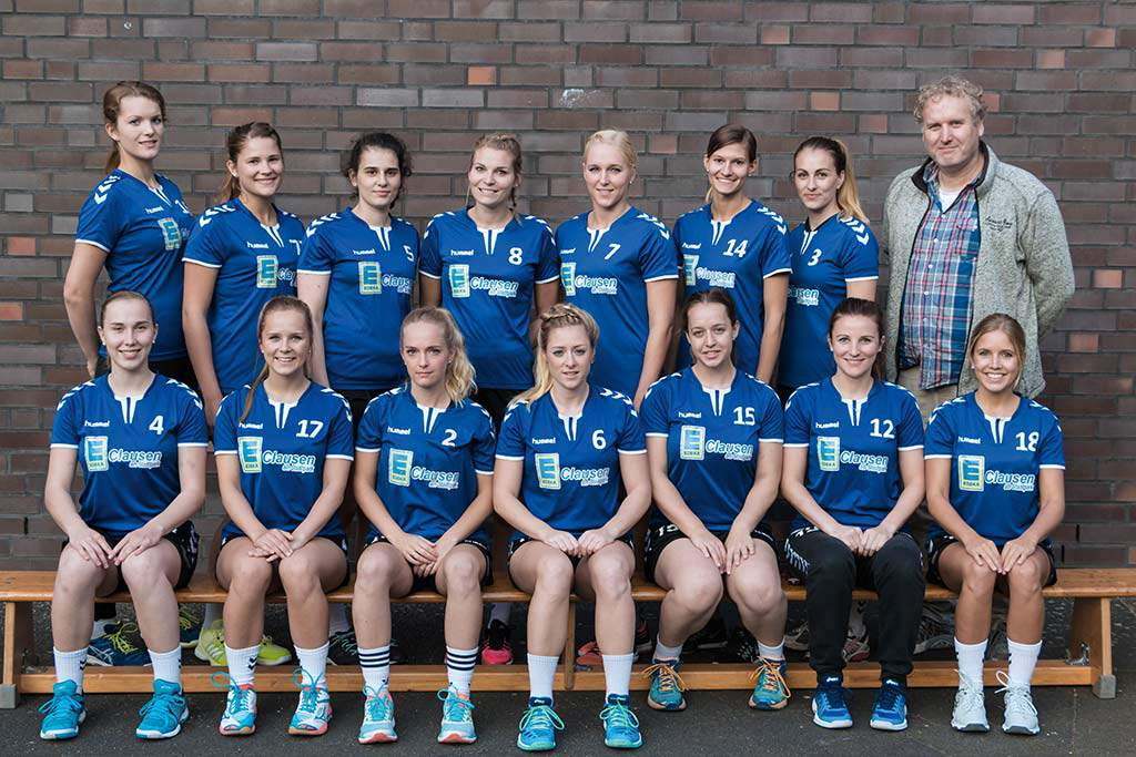 1. Damen - Teamfoto 2017/18